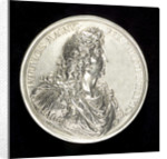 Medal commemorating the capture of Tobago, 1677; obverse by A. Meybusch