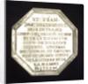 Medal commemorating Etienne François, Duc de Choiseul-Amboise (1719-1785), Minister of Marine by L.O.R.