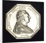 Medal commemorating the establishment of a lazaretto at Marseilles, 1775; obverse by N.M. Gatteaux