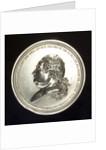 Medal commemorating Admiral Pierre André de Suffren Saint Tropez (1729-1788) by Augustin Dupr