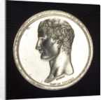 Medal commemorating the projected invasion of England, 1804; obverse by N. G. Brenet