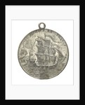 Medal commemorating Napoleon Bonaparte (1769-1821) sailing from Elba, 1815; reverse by unknown