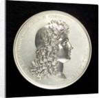 Memorial medal to Admiral Louis Alexandre de Bourbon, Comte de Toulouse (1678-1737), commemorating the action off Malaga 1704; obverse by R. Gayrard