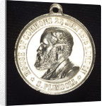 Medal commemorating Samuel Plimsoll (1824-1898) and the coffin-ships; obverse by A. Chevalier