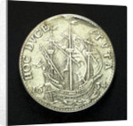 Counter commemorating Cardinal Armand Jean Duplessis, Duc de Richelieu (1585-1642); reverse by unknown