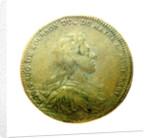Counter commemorating Louis A. de Bourbon, Duc du Maine, Grandmaster of Artillery; reverse by H. Roussel