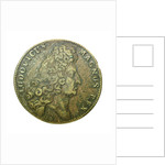 Counter commemorating the Battle of Malaga, 1704; obverse by H. Roussel