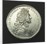 Counter commemorating the survival of the East India Company following the collapse of Law's enterprises; obverse by H. Roussel