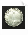 Counter commemorating the attack on the Tripoli pirates, 1729; reverse by H. Roussel