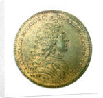 Counter commemorating the defeat of the Corsairs of Barbary by Admiral Duguay-Trouin, 1732; obverse by H. Roussel