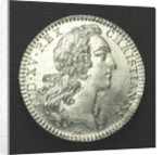 Counter commemorating the Battle of Cape Finisterre, 1747; obverse by F. Marteau