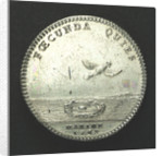 Counter commemorating the increased strength of the navy; reverse by J. Duvivier