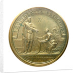 Medal commemorating the cession of Dunkirk; reverse by J. Mauger