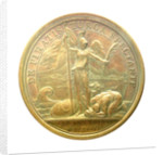 Medal commemorating the Tripoli pirates defeated at Chios, 1681; reverse by J. Mauger