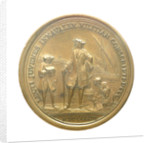 Medal commemorating eight hundred naval cadets enrolled for service in the war navy; reverse by L.I.