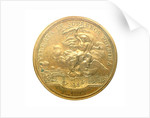 Medal commemorating the bombardment of Genoa, 1684; reverse by J. Mauger