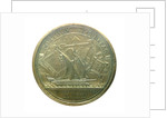 Medal commemorating the safety of the harbours; reverse by J. Mauger