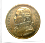 Medal commemorating Admiral Gaspard Monge (1746-1818); obverse by J.E. Gatteaux
