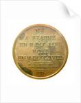Medal commemorating Admiral Gaspard Monge (1746-1818); reverse by J.E. Gatteaux