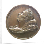 Medal commemorating the translation of the body of Napoleon to Rouen; obverse by Alexis Joseph Depaulis