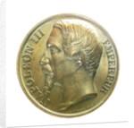 Medal commemorating the capture of Bomarsund, 1854; obverse by Valentin Maurice Borrel