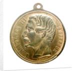 Medal commemorating the Crimean War (1854-1856); obverse by A. Garnier