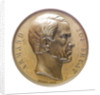 Medal commemorating Admiral Armand Bruat (1796-1855); obverse by Valentin Maurice Borrel