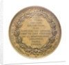 Medal commemorating Admiral Armand Bruat (1796-1855); reverse by Valentin Maurice Borrel