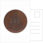 Medal commemorating the International Maritime Exhibition, Havre, 1868; reverse by C. Trotin