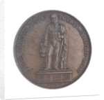 Medal commemorating  Admiral Justin-Napoleon Chasseloup-Laubat (1805-1873); obverse by A. Desaide