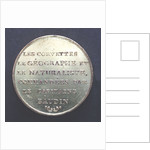 Medal commemorating Captain Nicholas Baudin's expedition to New Holland (Australia); reverse by P.A. Montagny