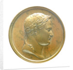 Medal commemorating the planned invasion of England, 1804; obverse by J.P. Droz