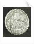 Medal commemorating the dominion of the sea; reverse by T. Rawlins
