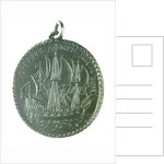 Medal commemorating the dominion of the sea; reverse by Thomas Rawlins
