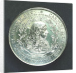 Medal commemorating the landing of King Charles II at Dover, 1660; obverse by J. Roettier