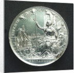 Medal commemorating the Peace of Breda, 1667; reverse by J. Roettier