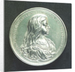Medal commemorating the fortifications at Ostend; obverse by J. Roettier