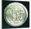 Medal commemorating Christ's Hospital; obverse by J. Roettier