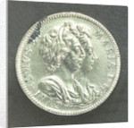 Medal commemorating the Battle of La Hogue, 1692; obverse by Jas Roettier