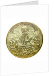 Button commemorating Admiral Edward Vernon (1684-1757); obverse by unknown
