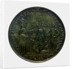 Medal commemorating Vernon's attack on Cartagena, 1741; obverse by unknown