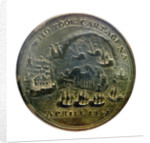 Medal commemorating Vernon's attack on Cartagena, 1741; reverse by unknown