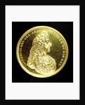 Naval reward medal; obverse by J. Roettier