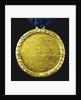 Medal commemorating the capture of Gibraltar, 1704; reverse by J. Croker