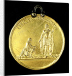 Medal commemorating the Spanish galleys destroyed, 1742; obverse by Thomas Pingo