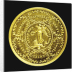 Medal commemorating the Battle of Cape Finisterre, 1747 and Admiral Lord Anson's voyage, 1740-4; reverse by Thomas Pingo