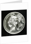 Medal commemorating the Battle of Cape Finisterre and Admiral Lord Anson's voyage, 1740-4; obverse by Thomas Pingo