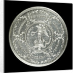Medal commemorating the Battle of Cape Finisterre and Admiral Lord Anson's voyage, 1740-4; reverse by Thomas Pingo