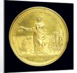 Medal commemorating the Society of Naval Architecture; obverse by J. Milton