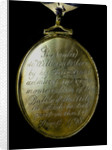 Locket commemorating the Battle of the Nile, 1798; obverse by unknown